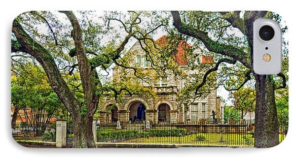 St. Charles Ave. Mansion IPhone Case by Steve Harrington