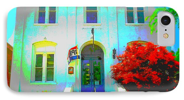 St. Charles County City Hall Painted IPhone Case
