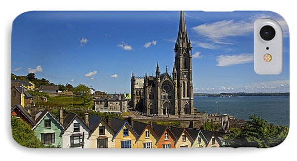 St Colmans Cathedral, Cobh, County IPhone Case by Panoramic Images