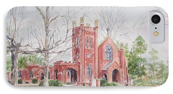 St. David's Episcopal Church IPhone Case by Gloria Turner