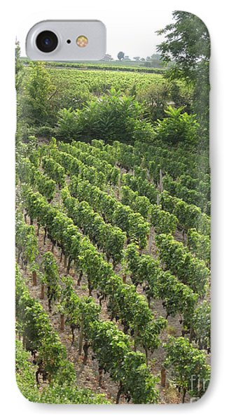 IPhone Case featuring the photograph St. Emilion Vineyard by HEVi FineArt