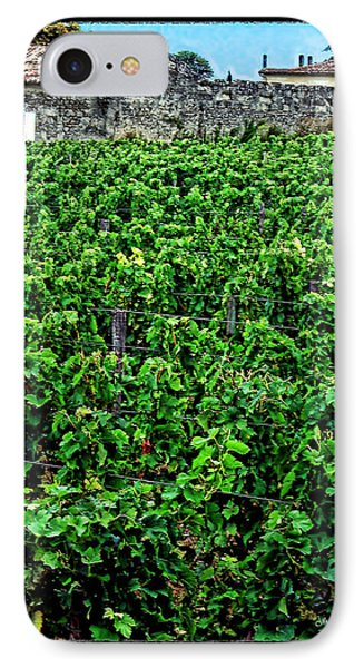 IPhone Case featuring the photograph St. Emilion Winery by Joan  Minchak