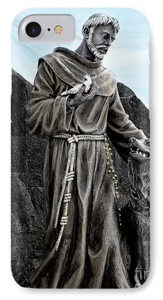 St Francis Of Assisi On Isabela In The Galapagos IPhone Case by Al Bourassa