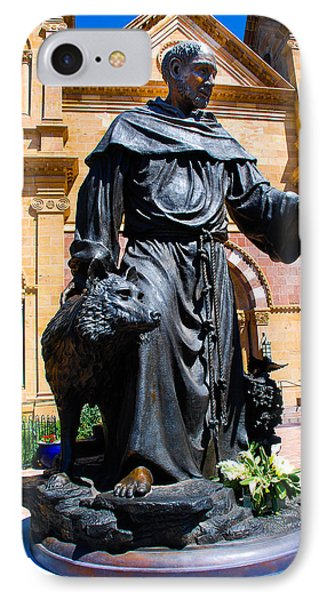 St Francis Of Assisi - Santa Fe IPhone Case