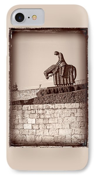 St Francis Returns From Crusades IPhone Case