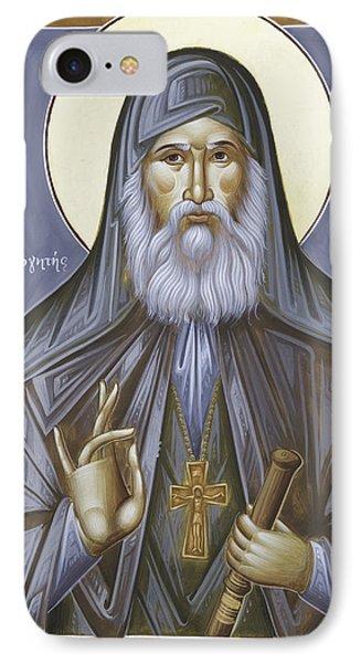 St Gabriel The Confessor Of Georgia IPhone Case by Julia Bridget Hayes