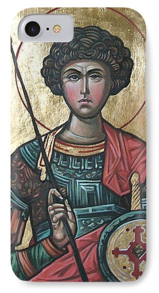 St. George IPhone Case by Filip Mihail