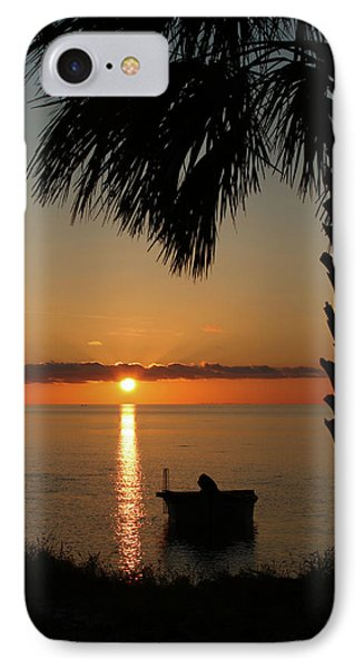 St. George Island Sunset Phone Case by Lynn Jordan