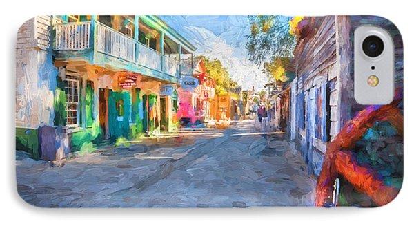 St George Street St Augustine Florida Painted IPhone Case