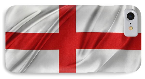 St George's Cross IPhone Case by Les Cunliffe