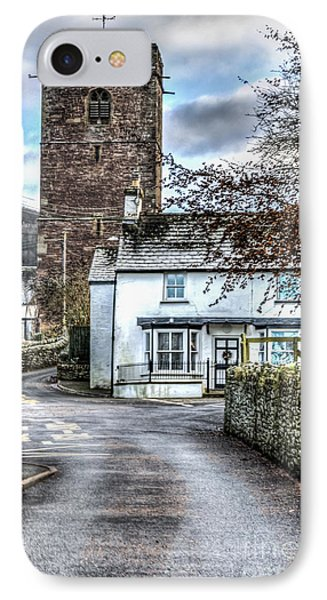 St Gwendolines Church Talgarth IPhone Case by Steve Purnell