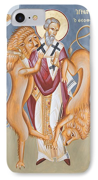 St Ignatius Of Antioch Phone Case by Julia Bridget Hayes