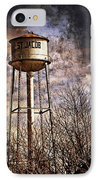 St. Jacob Water Tower 2 Phone Case by Marty Koch