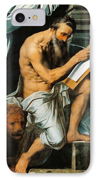 St. Jerome Phone Case by Willem Key