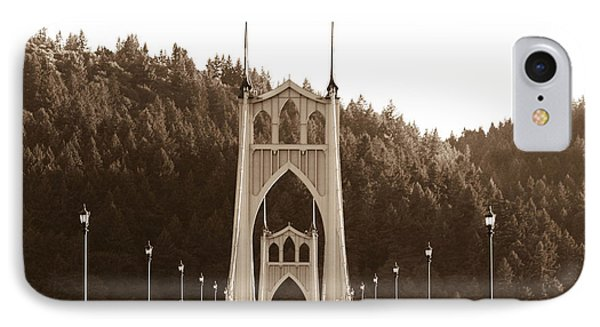 IPhone Case featuring the photograph St. John's Bridge by Patricia Babbitt