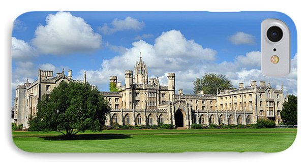 St. John's College Cambridge IPhone Case