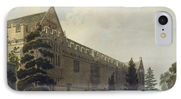 St Johns College Seen From The Garden IPhone Case