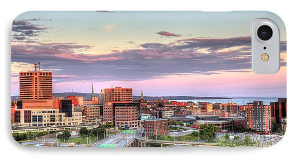 St. John's New Brunswick Sunset Skyline IPhone Case by Shawn Everhart