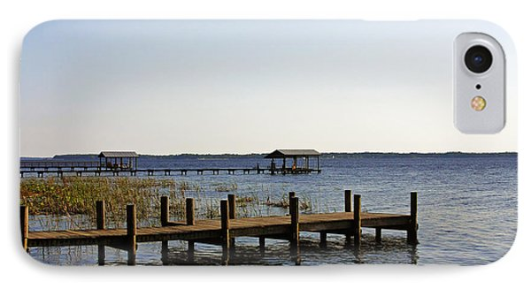 St Johns River Florida - Walk This Way Phone Case by Christine Till