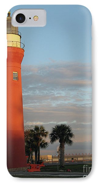St. Johns River Lighthouse II IPhone Case by Christiane Schulze Art And Photography