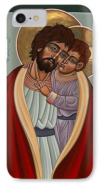 IPhone Case featuring the painting St. Joseph And The Holy Child 239 by William Hart McNichols