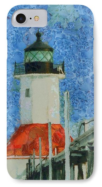 St. Joseph Lighthouse Lake Michigan IPhone Case by Dan Sproul
