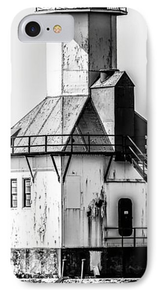 St. Joseph Lighthouse Vertical Panorama Picture  IPhone Case