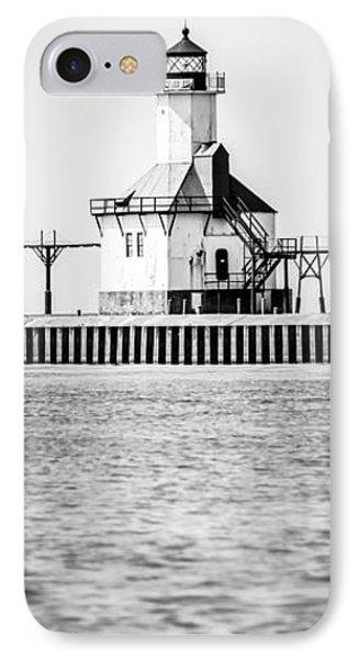 St. Joseph Lighthouse Vertical Panoramic Photo IPhone Case