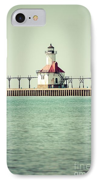 St. Joseph Lighthouse Vintage Picture  Phone Case by Paul Velgos