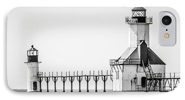 St. Joseph Lighthouses Panorama Picture IPhone Case