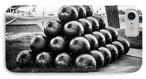St. Joseph Michigan Cannon Balls Picture Phone Case by Paul Velgos