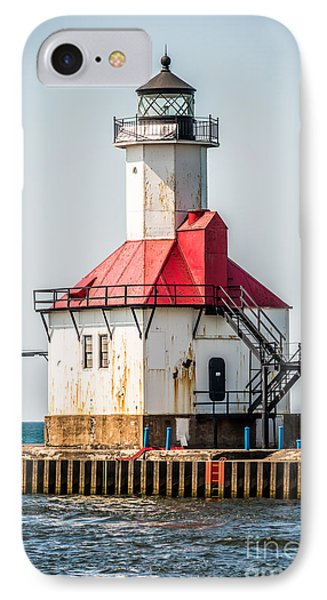 St. Joseph Michigan Lighthouse Picture  Phone Case by Paul Velgos