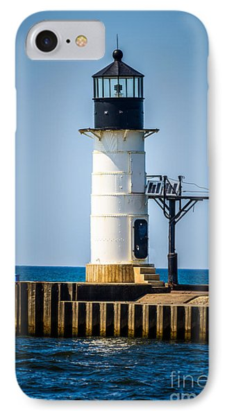 St. Joseph Outer Lighthouse Photo Phone Case by Paul Velgos