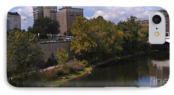 St. Joseph River Panorama Phone Case by Anna Lisa Yoder