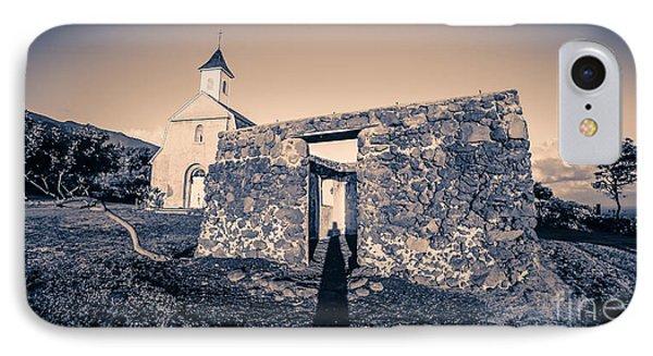 St. Josephs Church Maui Hawaii Phone Case by Edward Fielding