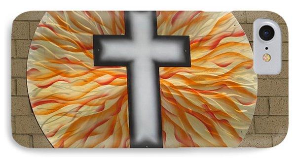 St. Josephs Cross Phone Case by Rick Roth