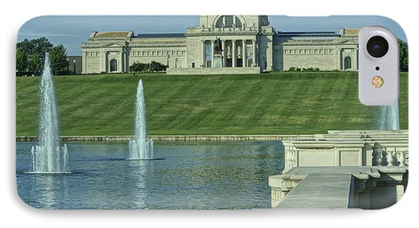 St Louis Art Museum And Grand Basin IPhone Case