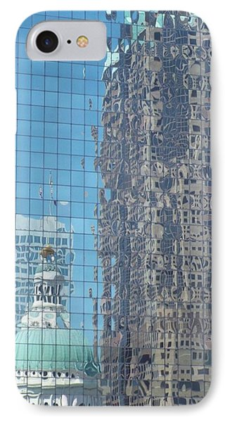 St. Louis Bldg Reflections IPhone Case by Cindy Croal