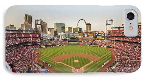 St. Louis Cardinals National Anthem Phone Case by David Haskett