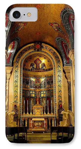 St Louis Cathedral Basilica IPhone Case by Cindy Croal