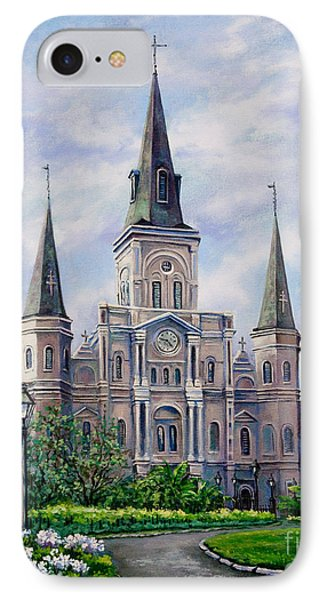 St. Louis Cathedral Phone Case by Dianne Parks
