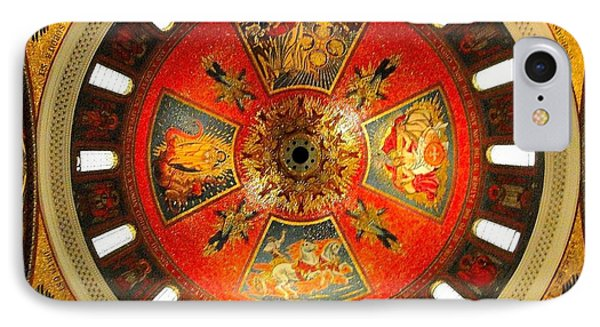 St. Louis Cathedral Dome IPhone Case by Cindy Croal