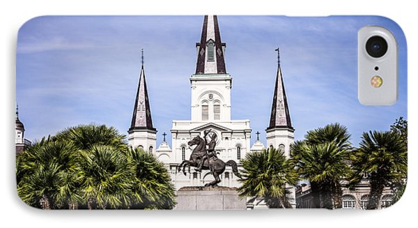 St. Louis Cathedral In New Orleans  IPhone Case
