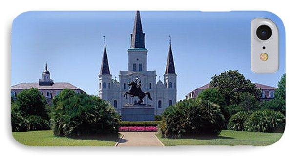 St Louis Cathedral Jackson Square New IPhone Case by Panoramic Images
