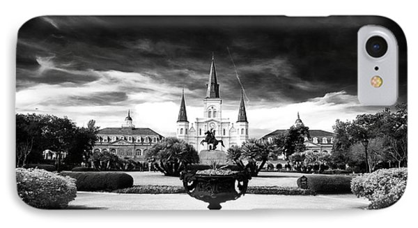 St. Louis Cathedral Phone Case by John Rizzuto