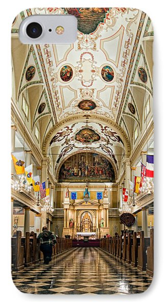 St. Louis Cathedral Phone Case by Steve Harrington