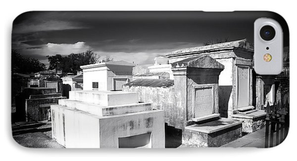 St. Louis Cemetery #1 Phone Case by John Rizzuto