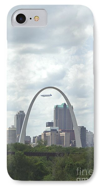 St. Louis Cityscape Phone Case by Kay Pickens