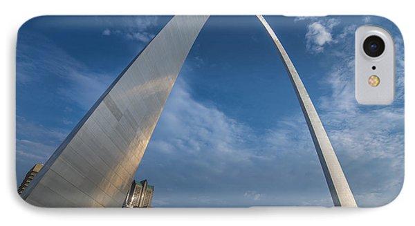 St. Louis Gateway Arch Sunrise IPhone Case by David Haskett
