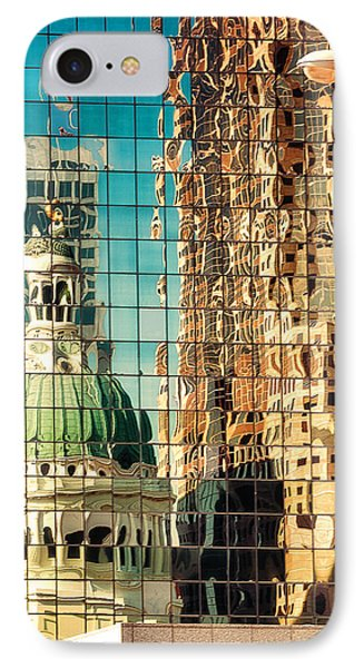 St. Louis Old Courthouse Reflected IPhone Case